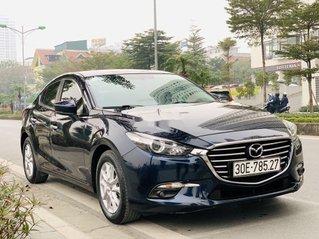 Cần bán gấp Mazda 3 đời 2017, màu xanh lam, ít sử dụng, giá tốt