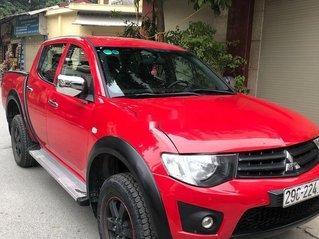 Cần bán gấp Mitsubishi Triton đời 2012, màu đỏ, ít sử dụng