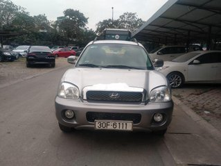 Cần bán lại xe Hyundai Santa Fe sản xuất năm 2005, màu bạc