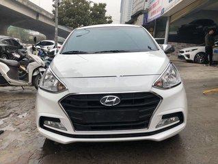 Bán xe Hyundai Grand i10 năm sản xuất 2019, màu trắng