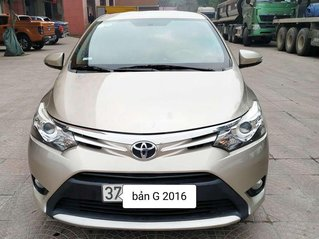 Cần bán gấp Toyota Vios năm 2016 còn mới