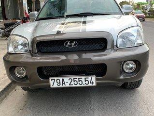 Cần bán xe Hyundai Santa Fe đời 2003, màu nâu, nhập khẩu
