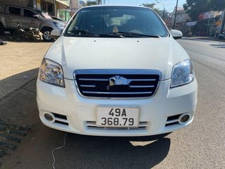 Cần bán gấp Daewoo Gentra đời 2010, màu trắng, xe nhập, 185tr
