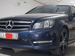 Cần bán gấp Mercedes C200 đời 2014, màu xanh lam, nhập khẩu
