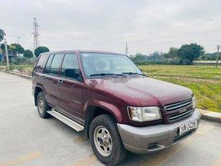 Cần bán lại xe Isuzu Trooper đời 2001, màu đỏ, nhập khẩu