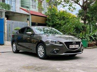 Cần bán gấp Mazda 3 đời 2016, màu xám
