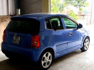 Cần bán lại xe Kia Morning sản xuất năm 2010, màu xanh lam