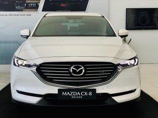 Mazda CX8 Deluxe giảm 50tr tặng gói phụ kiện 30tr