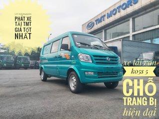 Xe tải Van TMT K05S 900kg 2021, nội thất rộng rãi đầy đủ tiện nghi, hỗ trợ trả góp 70%