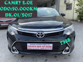 Bán Toyota Camry 2.0E ĐK 2017, xe đẹp giá tốt