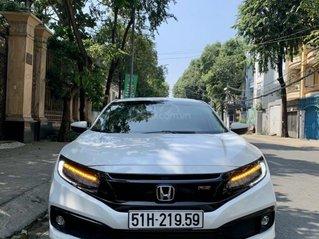 Bán xe Honda Civic đăng ký 2019, màu trắng, ít sử dụng, giá tốt 886 triệu đồng