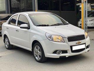 Bán Chevrolet Aveo LT 1.4 MT đời 2018, màu trắng