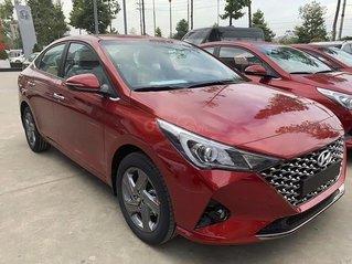 Cần bán xe Hyundai Accent năm sản xuất 2021, màu đỏ