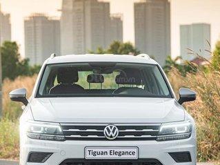 Volkswagen Tiguan 2021 màu trắng nhập khẩu 100% giao xe ngay, tặng quà khủng từ hãng, đủ màu giao ngay