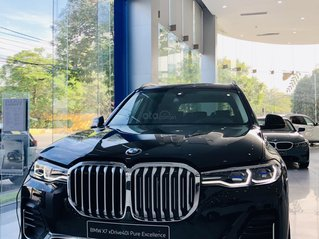 BMW X7 phiên bản M-Sport màu đen cực chất - nhập khẩu nguyên chiếc, xe có sẵn