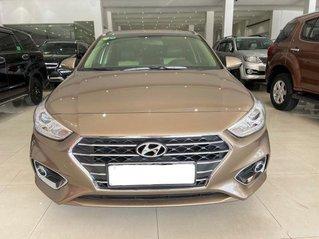 Cần bán xe Hyundai Accent 1.4AT sản xuất năm 2019, màu vàng