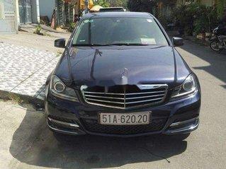 Cần bán lại xe Mercedes C class sản xuất năm 2013, màu xanh lam