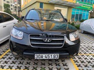 Cần bán xe Hyundai Santa Fe đời 2008, màu đen, xe nhập