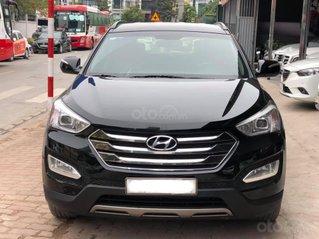 Cần bán xe Hyundai Santa Fe sản xuất năm 2013, màu đen