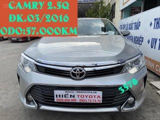 Toyota Camry 2.5Q, ĐK 03/2016
