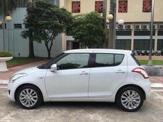 Bán xe Suzuki Swift 2014, màu trắng, biển Hà Nội