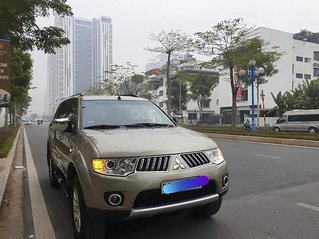 Cần bán lại xe Mitsubishi Pajero Sport 4x4 MT năm sản xuất 2012, màu nâu