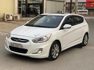 Cần bán xe Hyundai Accent 1.4 AT sản xuất năm 2014, màu trắng, xe nhập