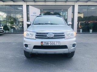 Toyota Fortuner V 2.7 4x4 2 cầu model 2012 màu bạc