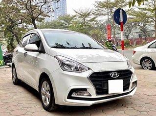 Bán xe Hyundai Grand i10 1.2 AT sản xuất năm 2018, màu trắng