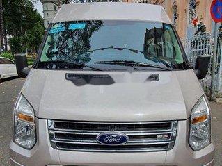 Bán ô tô Ford Transit sản xuất 2015, màu bạc, xe nhập