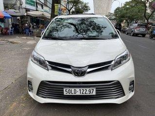 Bán Toyota Sienna sản xuất năm 2018, màu trắng, nhập khẩu