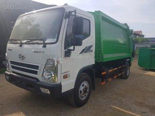 Bán xe cuốn ép rác 10 khối Hyundai thùng inox 304