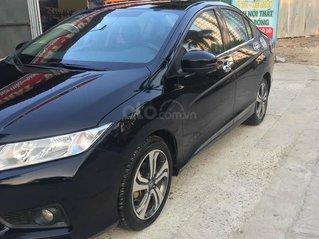 Bán xe Honda City đời 2015, màu đen