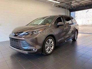 Cần bán xe Toyota Sienna Limited model 2021, màu xám, xe nhập Mỹ mới 100% giá tốt