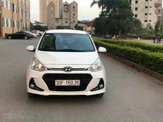 Cần bán lại xe Hyundai Grand i10 đời 2018, màu trắng số tự động, giá 378tr