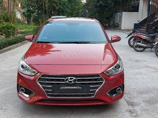 Cần bán xe Hyundai Accent bản đặc biệt, sản xuất 2018 màu đỏ, giá tốt, mới chạy 27000km