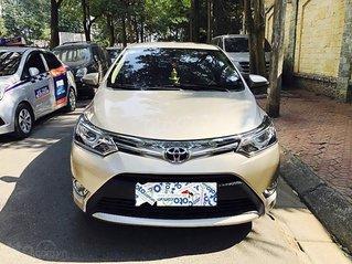 Bán Toyota Vios 1.5G đời 2018, màu vàng chính chủ