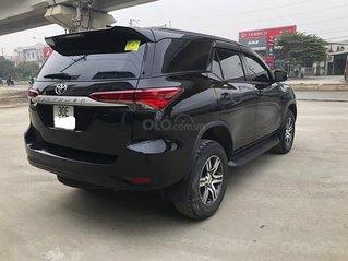 Cần bán gấp Toyota Fortuner 2.4MT đời 2017, màu đen, nhập khẩu