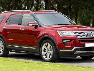 Bán ô tô Ford Explorer sản xuất năm 2019, màu đỏ, nhập khẩu còn mới
