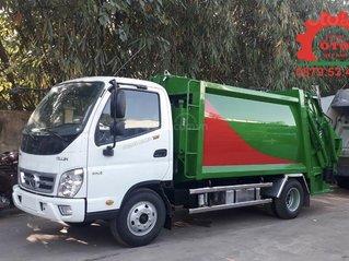 Bán xe cuốn ép rác 4 khối thùng inox 304 tải 2 tấn