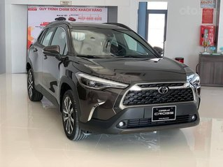 Toyota Corolla Cross 2021 nhận ký đặt xe, không kèm phụ kiện, hỗ trợ trả góp tối đa sản xuất 2021