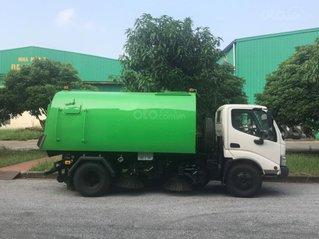 Bán xe quét rác hút bụi đường 3 khối Hino