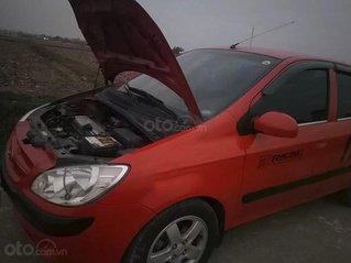 Cần bán Hyundai Getz năm 2009, màu đỏ, nhập khẩu nguyên chiếc