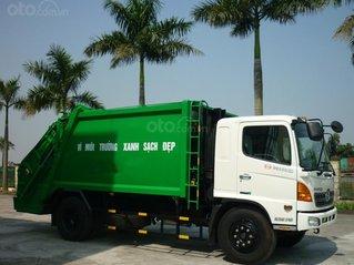 Bán xe cuốn ép rác Hino FG 14 khối hàng sẵn giao ngay