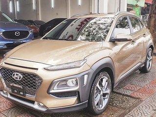Bán Hyundai Kona 1.6 Turbo sản xuất 2020, màu nâu