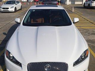 Bán Jaguar XF trắng, da bò, tư nhân HN