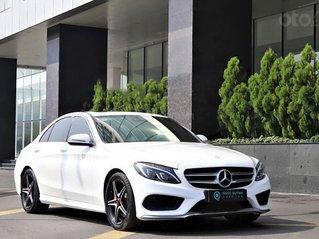 Cần bán lại xe Mercedes C300 2015, màu trắng chính chủ