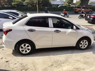 Cần bán xe Hyundai Grand i10 năm 2017, màu trắng chính chủ, 319tr