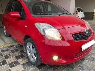 Bán ô tô Toyota Yaris sản xuất 2008, màu đỏ, nhập khẩu nguyên chiếc