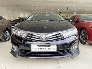 Bán xe Toyota Corolla Altis 2.0AT, màu đen, trả góp chỉ 206 triệu